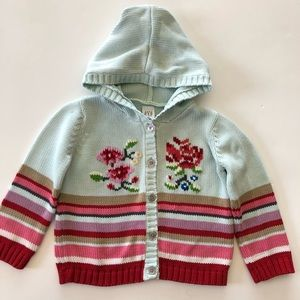 2 for $15💚Baby Gap Hooded Sweater